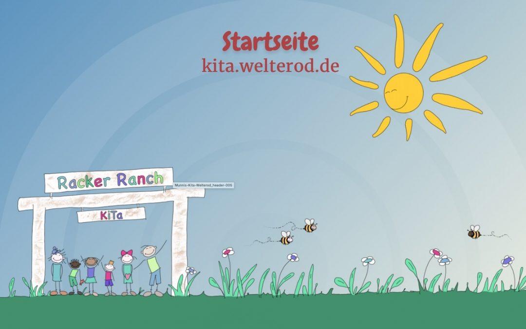 """Neue Internetseite Kindergarten """"Racker Ranch"""" geht online"""